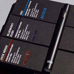 ISH Brand Disposable Cannabis Vape Pens